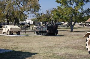 A view of the 1st Cav Museum, Ft. Hood, Texas